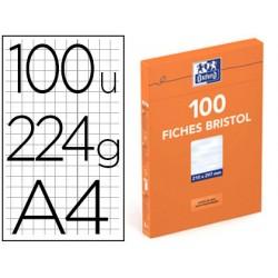 100 fiches bristol