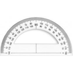 Rapporteur 180°-12cm...