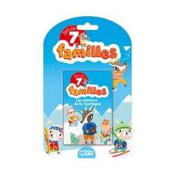 Jeux 7 familles Les animaux...