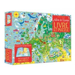 Coffret Atlas de l'Europe...