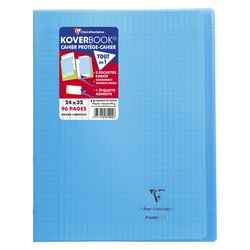 Cahier Koverbook 24x32cm Bleu