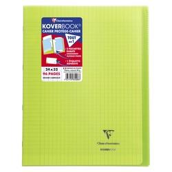 Cahier Koverbook 24x32cm Vert