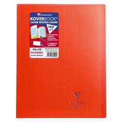 Cahier Koverbook 24x32cm Rouge