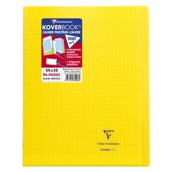 Cahier Koverbook 24x32cm Jaune