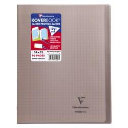 Cahier Koverbook 24x32cm Gris