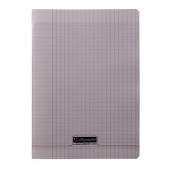 CAHIER 96 PAGES  24X32 Gris