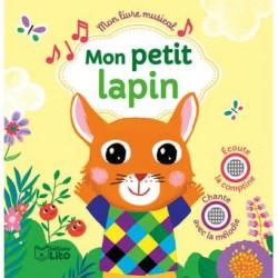 LIVRE MUSICAL MON PETIT LAPIN