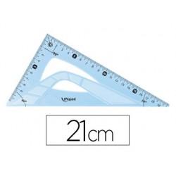 Equerre 45°-21 cm plastique...