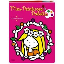 PEINTURE PALETTE-PRINCESSES