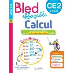 Bled effaçable Calcul CE2