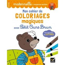 Mon cahier de coloriages...