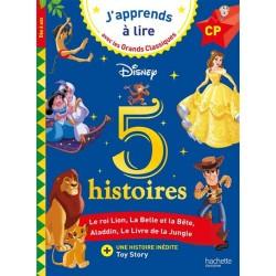 Disney - 5 histoires - CP...