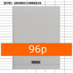 Cahier 96P polypropylène A4...