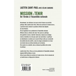 Mission : Tenir - Laetitia...