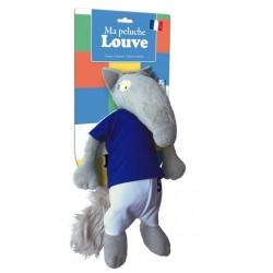Loup - : La peluche louve...