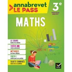 Annabrevet Le Pass - Maths 3e