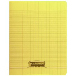 Cahier 48 pages 24*32 Jaune
