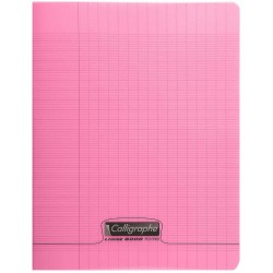Cahier 48 pages 24*32 Rose