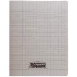 Cahier 48 pages 24*32 gris