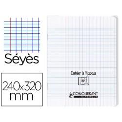 Cahier rabat 24*32cm incolore