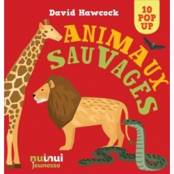 Animaux sauvages Pop Up